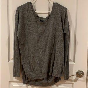 Lg Womens American Eagle Gray Sweater